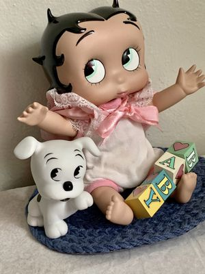 Used, DANBURY MINT BETTY BOOP PORCELAIN BABY DOLL for Sale for sale  Mountain View, CA