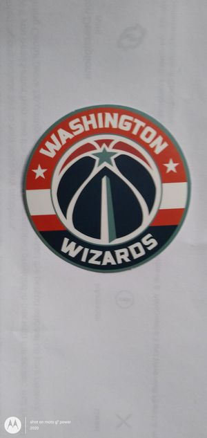 NBA WASHINGTON WIZARDS BASKETBALL TEAM LOGO DECAL STICKER for Sale in Montclair, CA