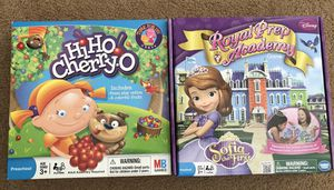 Kids games - Hi Ho Cherry-O and Sofia the first Royal Prep Academy for Sale in Folsom, CA