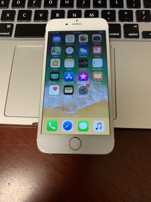 iPhone 6 Carrier AT&T H2O Cricket for Sale in Seattle, WA