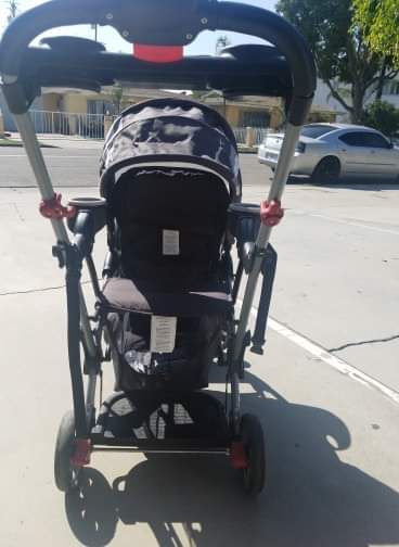 Baby trend sit n stand ultra stroller for 2, great for a baby and brother or sister