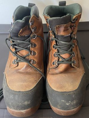 MENS 8 W DULUTH TRADING WORK LEATHER BOOTS WATERPROOF for Sale in Long Beach, CA