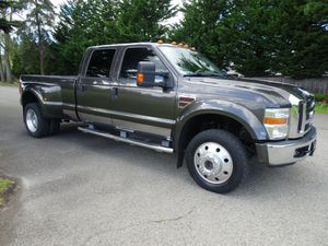 2008 Ford F450 Lariat Crew Cab 4WD Manual for Sale in Edgewood, WA
