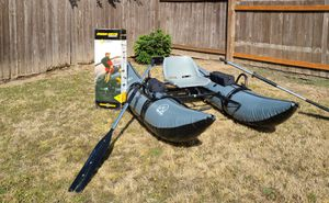 *BRAND NEW* WATER SKEETER Pontoon Boat w/ MINN KOTA Endura 30 lb thrust Motor for Sale in Newberg, OR