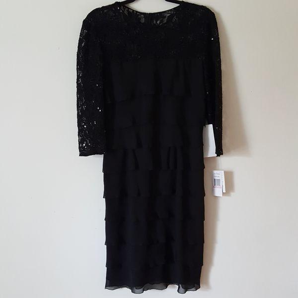Alex Evenings Little Black Dress
