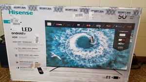 Hisense H8F 50in 4k HDR TV NEW (best under $500 & gaming) - crossposting to sell fast for Sale in Morristown, TN