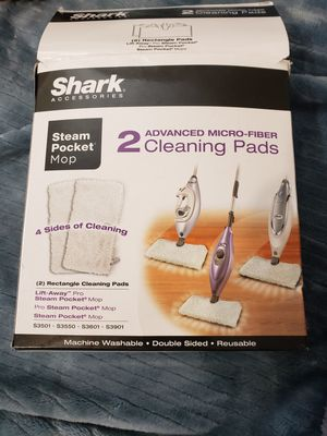 New Shark steam mop advanced micro fiber cleaning pads 2pk for Sale in Fontana, CA