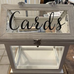 Wedding Card Box for Sale in Tampa, FL