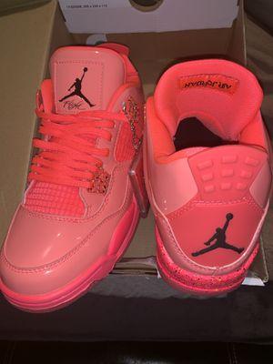 Air Jordan 4 Hot Punch Pink Women Size 8 Nike Retro for Sale in Atlanta, GA