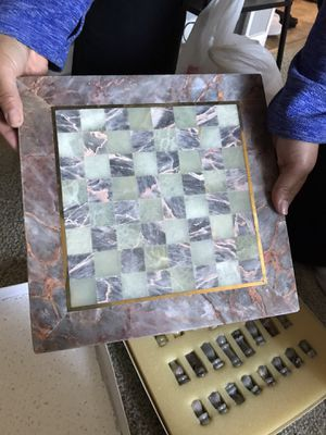 Marble Chest Game Set for Sale in Seekonk, MA
