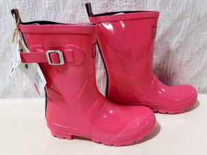 Joules Wellies Hot Pink Rain Boots Size 6 for Sale in Verona, PA