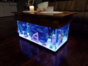 Coffee table Aquarium for Sale in Alexandria, VA
