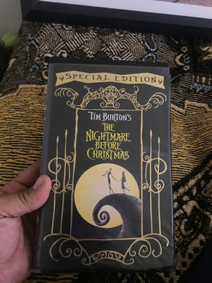 Nightmare before Christmas in vhs for Sale in Taylorsville, UT