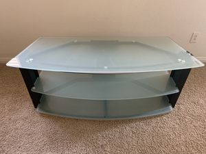 Tempered Glass TV Stand for Sale in Las Vegas, NV