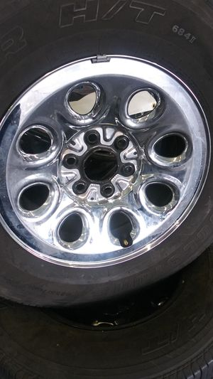 Chevy rims and tire for Sale in Las Vegas, NV