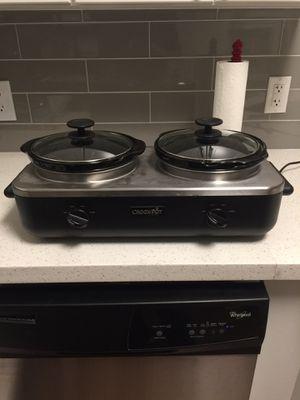 Double Crockpot by Crock Pot for Sale in Phoenix, AZ
