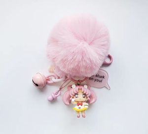 Sailor moon chibi pink Pom Pom keychain kawaii anime for Sale in Midway City, CA