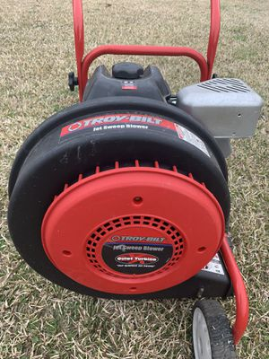 Troy-Bilt jet sweep blower for Sale in Willow Spring, NC