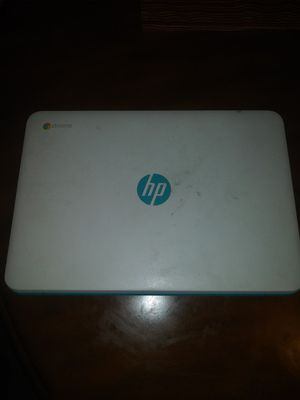Working hp laptop google chrome no charger for Sale in Taunton, MA