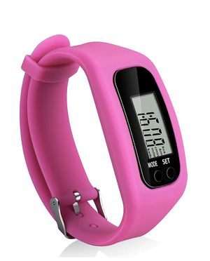 Bomxy Fitness Tracker Watch, Simply Operation Walking Running Pedometer with Calorie Burning and Steps Counting (Rose red) for Sale in Vernon, CA