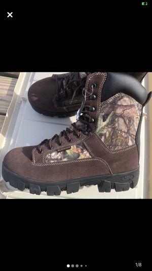 Camouflage waterproof work boot(new) for Sale in Philadelphia, PA
