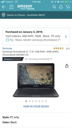 (New) Samsung Chromebook 3 for Sale in Southfield, MI