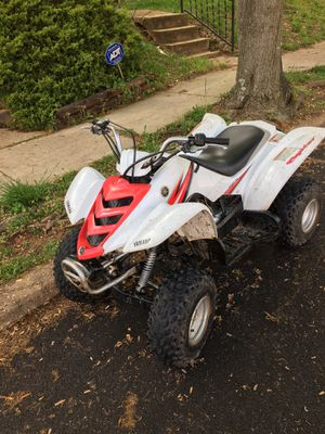 Raptor 50 nothing wrong with it .trying to trade it for my son he wants a crf50 ttr 50 or jr50 but $600 no less then $550 lowest for Sale in Baltimore, MD