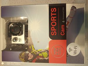 Sports action camera new with wifi for Sale in Las Vegas, NV
