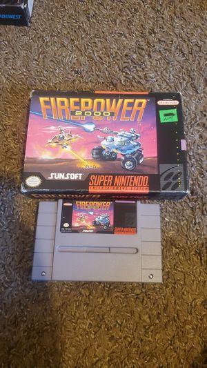 Firepower 2000 super nintendo. $30 for Sale in Bakersfield, CA