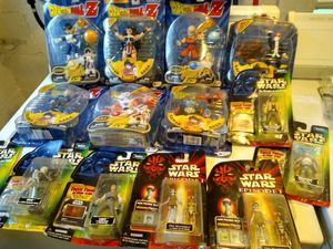 Star Wars and Dragon Ball Z Figurines for Sale in North Ridgeville, OH