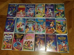 18 Classic Disney VHS tapes for Sale in Bridgeport, CT