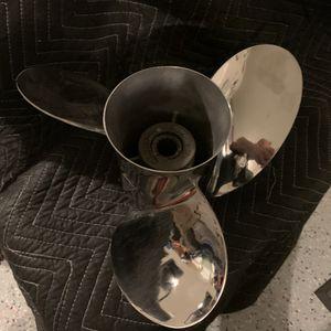 Stainless Steel Propeller for Sale in Menifee, CA