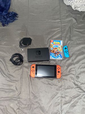 Nintendo switch with 1 game for Sale in Phoenix, AZ