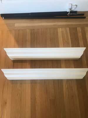 "2 Pottery Barn 36"" wall shelves for Sale in San Francisco, CA"