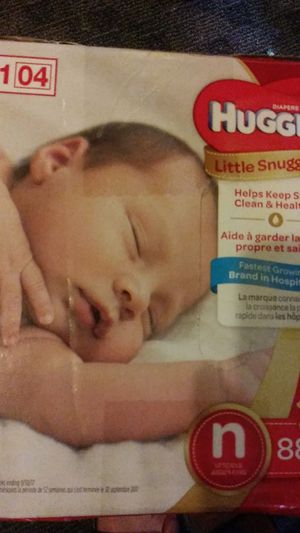 Huggies nb 88 count. Brand new for Sale in Minneapolis, MN