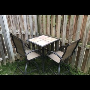 Outdoor Table And Chairs for Sale in Alexandria, VA