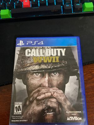 Call of Duty WWII for Sale in Waterbury, CT