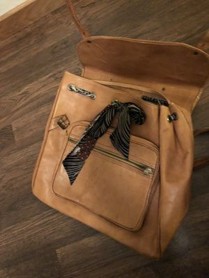 Leather book bag/ briefcase for Sale in Snohomish, WA