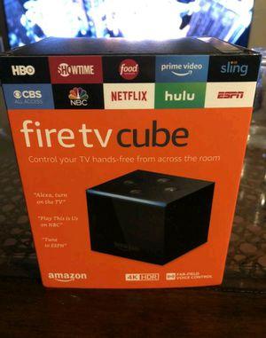 Fully Loaded Amazon Fire TV Cube HD 4K for Sale in Las Vegas, NV