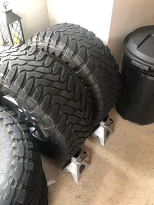 35 12:50 17 Tires with JK Rims / Wheels for Sale in Longwood, FL