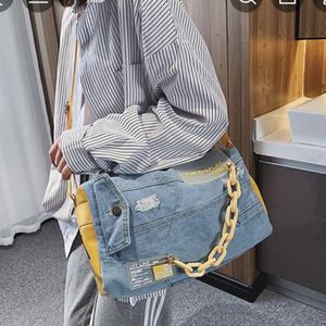 Jean Jacket Duffle Bag for Sale in Baltimore, MD