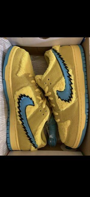 Nike sb yellow bears sz10.5 for Sale in Los Angeles, CA