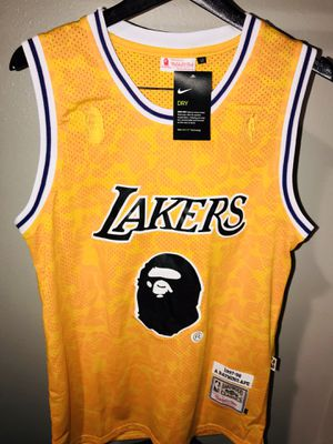 Bape Lakers Jersey for Sale in Hermitage, TN