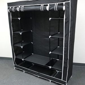 """(NEW) $35 each Fabric Wardrobe Closet Storage Clothes Organizer 60x17x68"""" (3 Colors) for Sale in City of Industry, CA"""
