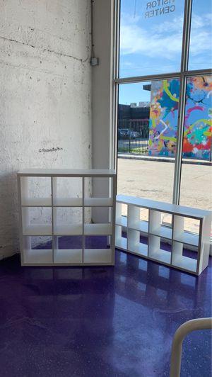 IKEA white shelf units for Sale in Miami, FL