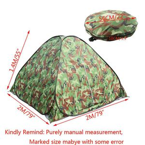 Instant Automatic Pop Up Camping Hiking 3 Person Tent Camo Waterproof for Sale in Gresham, OR