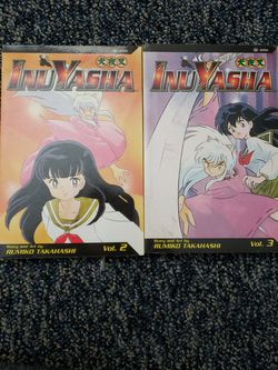 InuYasha Volumes 2 And 3 Manga for Sale in Oakdale,  PA