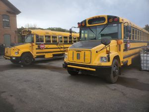 2 buses both run and drive Cat diesels 130k and 140k 3,400 each for Sale in Providence, RI