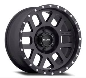 """METHOD MR306 MESH RIMS WHEELS 17"""" 18"""" 20"""" Sizes Pricing Starting @ $184 Ea Brand New Inventory Matte Black Finish Size 17x8.5 ......$184 Each Si for Sale in La Habra, CA"""