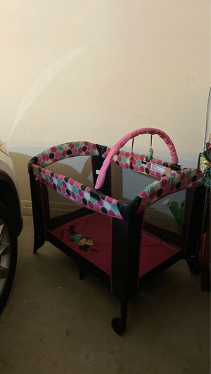 Minnie Mouse Play Yard for Sale in Phoenix, AZ